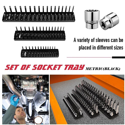 Socket Tray Multifunctional Garage Storage Tool Rack Holder Home Plastics Organizer Accessories Shelf Stand Home Repairing Tool