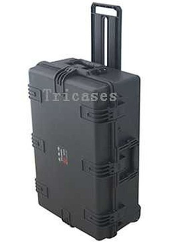 Tricases factory OEM/ODM hard IP67 plastic large suitcase trolley tool case with pre-cut foam M2950