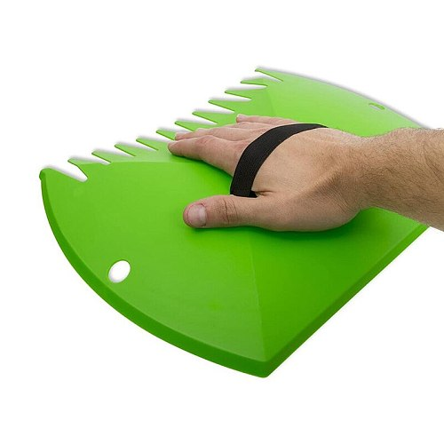 Garden-Yard Leaf Scoops,Plastic Scoop Grass,Hand Leaf Rakes and Leaf Collector for Garden Rubbish Great Tool Set of 2