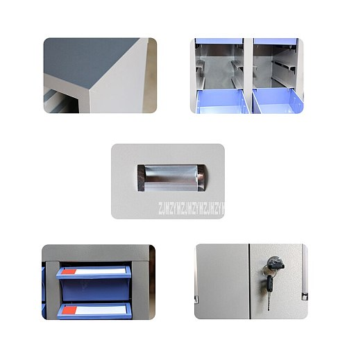48 Parts Drawer Type Stand Toolbox Plastic Screw Classification Component Drawer Hardware Parts Storage Case Craft Cabinet