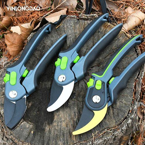 Garden Scissors Grafting Tool Fruit Tree Pruning Pruning Shears Hand Gardening Plant Scissor Branch Pruner Trimmer Tools