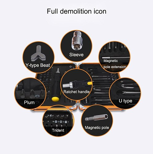 92 in 1 Precision Screwdriver Set Alloy Steel Repair Tools Kit Screwdriver Kit For Tablets Mobile Phone PC Repair With Box case
