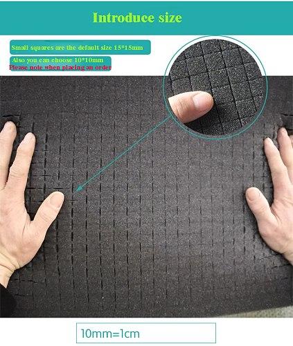 480×260×50 size Soft pre-cut foam for plastic tool case tool box
