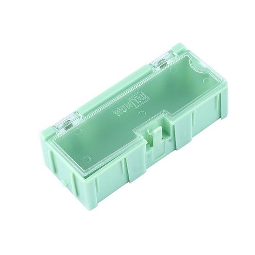 10pcs Small Tool Screw Object Electronic Component Parts Storage Box Lab Case SMT SMD Automatically Pops Up Patch Container