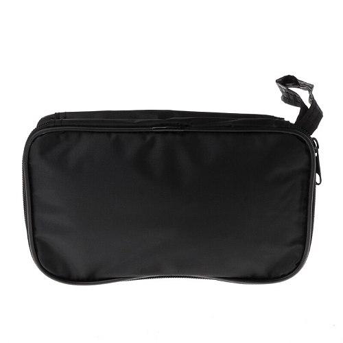 Multimeter Black Canvas Bag 20*12*4cm for UT61 Series Digital Multimeter Cloth Durable Waterproof Tools bag,DigitUNI