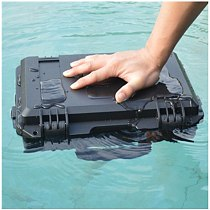 Hard Case Electronic ToolBox Waterproof Safety Box Photographic Instrument Tool Box Pre-Cut Foam Impact Resistant 295x205x91mm