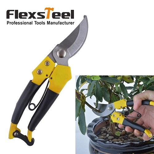 Flexsteel 8  Pruning Shears Tesoura Para Poda Garden Tools Bonsai Pruners Gardening Secateur Baumschere Snoeischaar