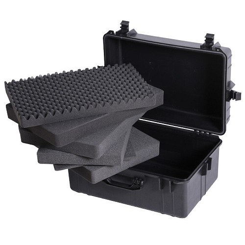 1 Pcs Protective safety box Toolbox Moisture-proof box Waterproof box Equipment Instrument box Shockproof sponge