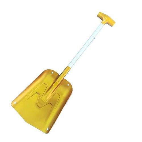 Portable Aluminum Sport Utility Shovel, Collapsible Snow Shovel Winter Snow Remover for Car, Camping Garden Outdoor Activities