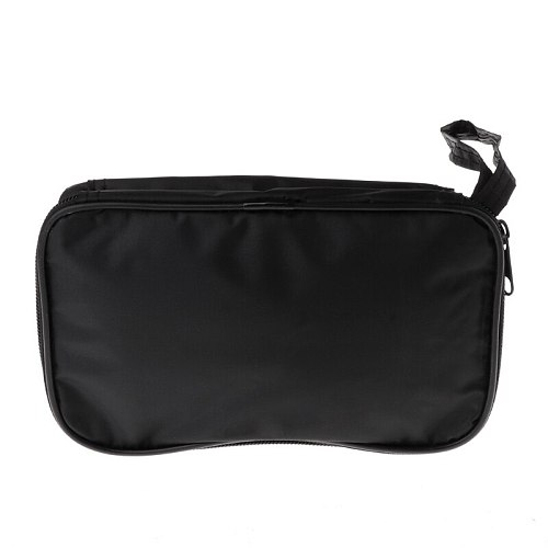 Multimeter Black Colth Bag 20*12*4cm UT Durable Waterproof Shockproof Soft Case 28GF