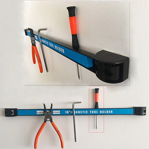 8  12  18  Magnetic Tool Holder Bar Organizer Storage Rack Knife Wrench Pliers-m35