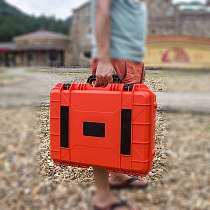 ABS Plastic Tool Case Impact Resistant Safety Tool Box Safety Equipment Instrument Case Portable Toolbox Shockproof with Foam