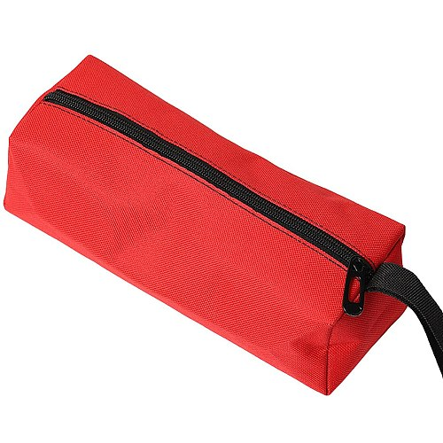 Hand Tool Bag Oxford Canvas Waterproof Storage Screws Nails Drill Bit Metal Parts Fishing Travel Makeup Organizer Pouch Bag Case