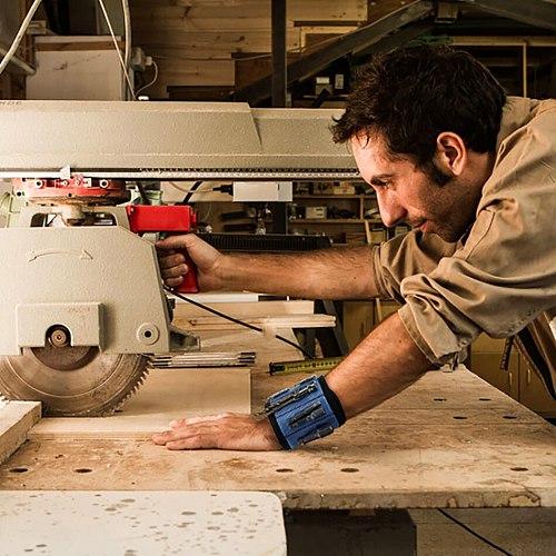 Geoeon Magnetic Wrist Support Tool Bag Electrician Wrist Tool Belt Screws Nails Drill Bits Holder Repair Tools D30