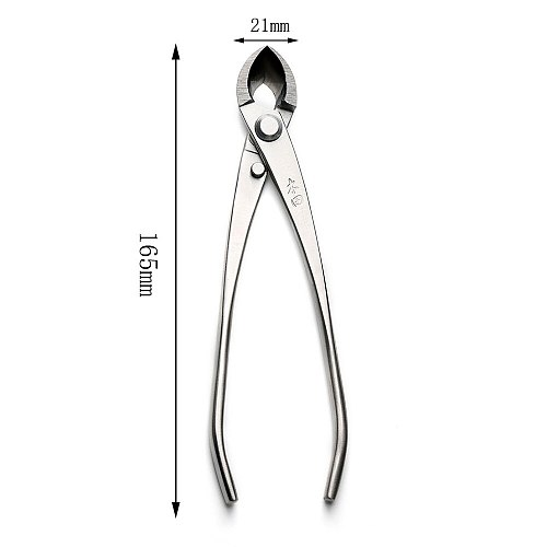 165 mm branch cutter straight edge cutter professional quality level 4Cr13MoV Stainless Steel bonsai tools made by TianBonsai