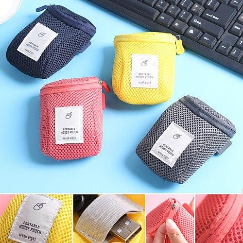 Travel storage portable digital gadget equipment storage bag USB cable headset pen organizer housing storage bag trip PAK55