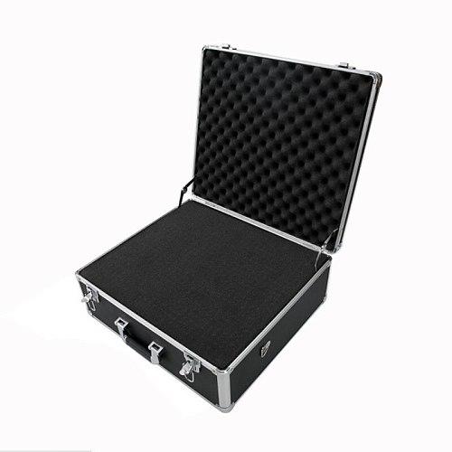 50x42x22cm Tool case Portable Aluminium Alloy toolbox Home Storage Box Suitcase Travel Luggage With pre-cut sponge