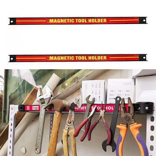 14  18  24  inch Magnetic Tool Holder Bar Organizer Storage Rack Knife Wrench Pliers hand Tool Storage