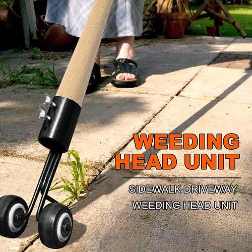 Weed Snatcher Lawn Mower Weeding Head Steel Weed Remover Weeding Tool Hand Weeder Gardening Grass Trimming Machine Brush Cutter