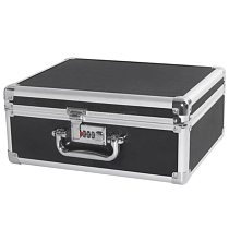 Aluminum Tool case suitcase File box Impact resistant safety case toolbox equipment instrument case with pre-cut foam