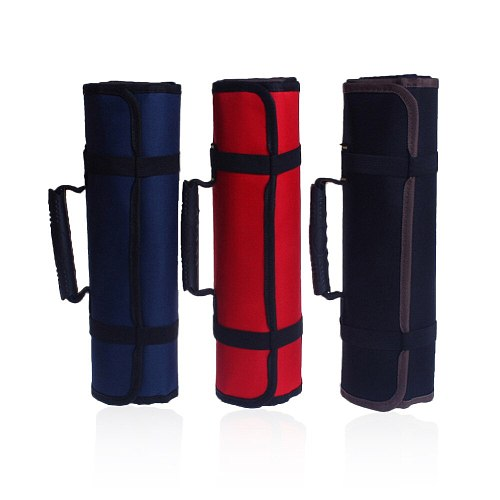 Utility Bag Multifunctional Oxford Canvas Chisel Roll Rolling Repairing Tool Practical with Carrying Handles 3 Colors New