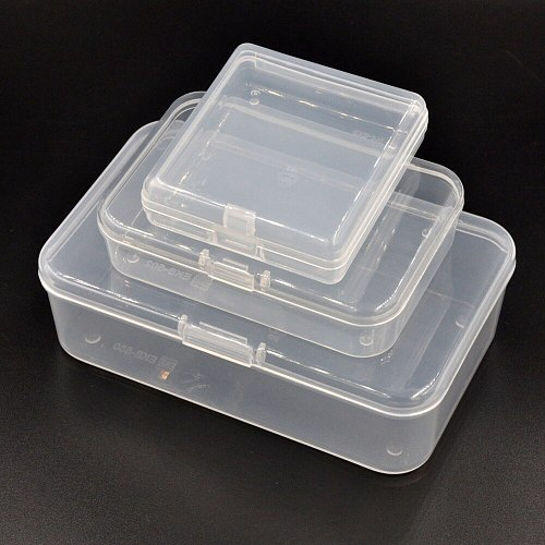 Century B Type Plastic Storage Box with Lock for Jewelry, Repairing Tool Parts, Issuing Cards, Bait, Screws, Button