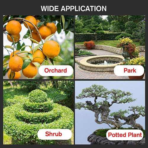 88V 9000mAh Cordless Pruner Pruning Shear Efficient Fruit Tree Bonsai Pruning Electric Tree Branches Cutter Landscaping w/Box