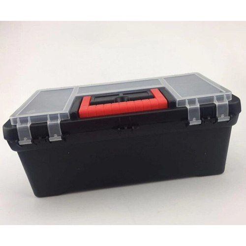 12.5 inch Portable Tool Box Storage For Tools Components Daily Necessities Woodworker Electrician Box Home hardware parts case