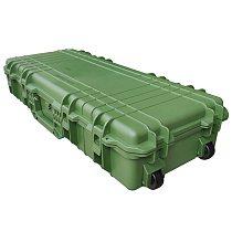Custom M3100 Foam Plastic Waterproof Equipment Storage Carry Case Hard Gun Case Long Rifle Case With Foam Insert