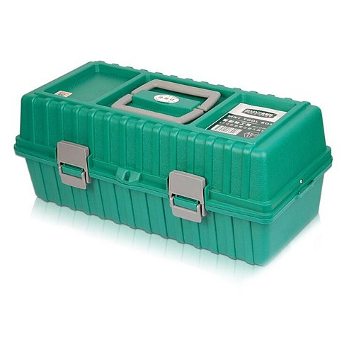 430X170X190mm ABS Tool case toolbox Impact resistant folding waterproof equipment camera case travel fishing repair tool box