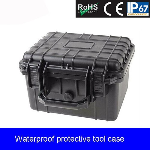 Safety box 10.5 inch photographic lens Equipment Vehicle Maintenance Outdoor Waterproof Box Pressure-resistant sealed tool case