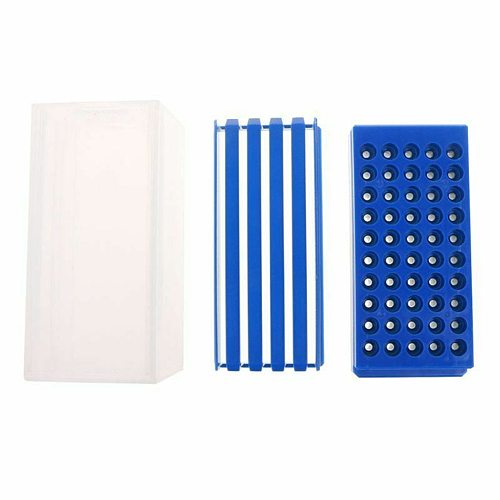50 Holes Milling Cutters Accessories Storage Box PP Tool Drawer Type Transparent Practical Durable Holder Organizer Drill Bit
