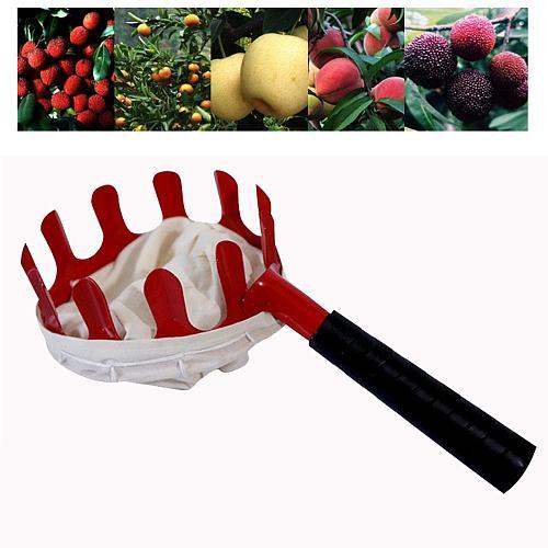 New Outdoor Useful Fruit Picker Apple Orange Peach Pear Practical Garden Picking Tool Bag Picking device Sammeln Vorrichtung Q40