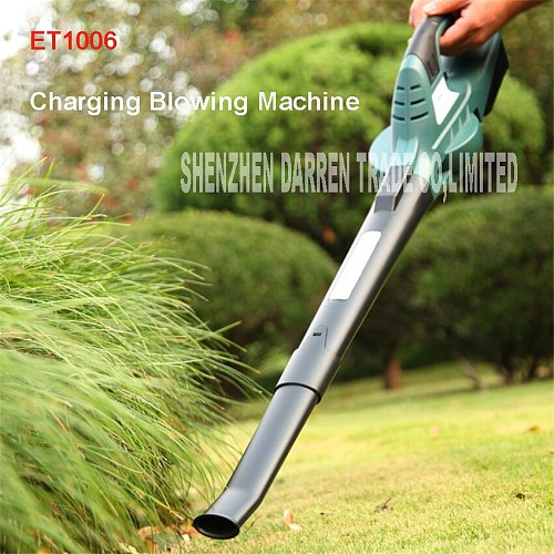 ET1006 outdoor garden Leaf Blower & Vacuum-18 V only 1.5 KG Lithium Multi-Purpose Blower/Sweeper Rechargeable Blowing Machine