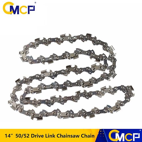 1pc 14'' Chainsaw Chain Blade 3/8'' Pitch 50/52 Drive Link Chainsaw Blade Chainsaw Spare Parts Fit For 14'' Guide Bar Saw Chains