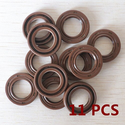 11PCS Oil Seal 15*25*5 fit Stihl 023 025 MS230 MS250 Replacement