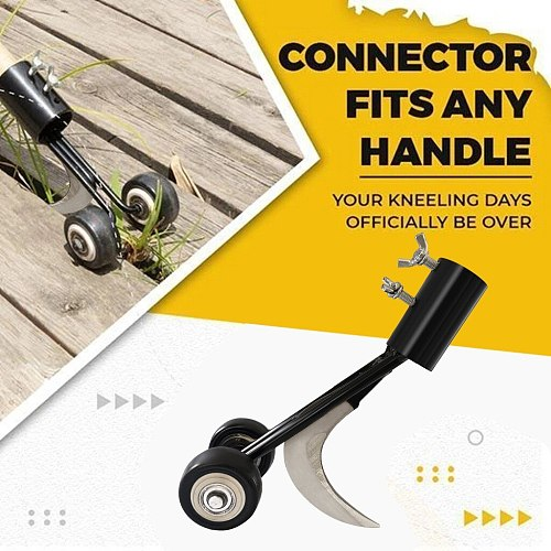Portable Grass Trimmer Lawn Weed Cutter Weeder With Wheel Weed Puller Stand Up Weeder Lawn Weed Puller Tool Portable Garden