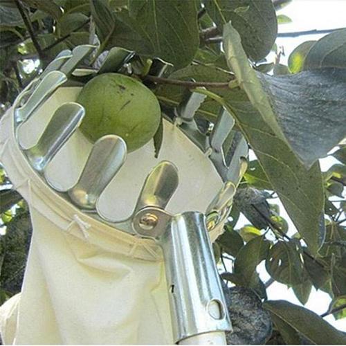 Metal Fruit Picker convenient Orchard Gardening Apple Peach High Tree Fruit Picking Tools