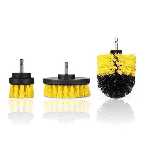 Multi-Function Electric Drill Brush Set Floor Carpet Brush Glass Cleaning Polishing Brush Bathroom Cleaning Kit