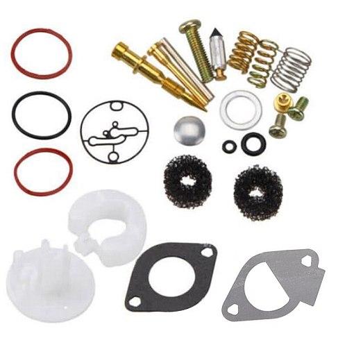Lawn Mower Carburetor Repair Kit Carb Rebuild Set for Briggs-Stratton 11HP-19HP 796184 Master Overhaul for Nikki Carbs