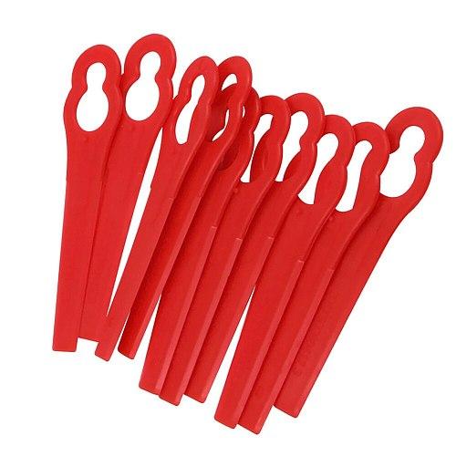 100pcs Swing Plastic Blade Pendants 20V Lithium 1500mAh Cordless Grass Trimmer Garden Timmer