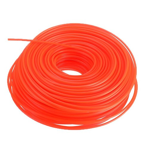 2.4mm*90m/3mm*80m Nylon Trimmer Line Grass Cutter Rope Trimmer Roll Cord Wire String For Grass Strimmer Replacement