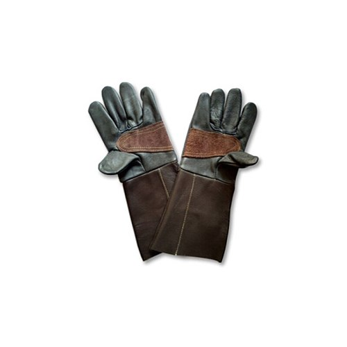 Cowhide Gardening Gloves Long Sleeve Wristband Garden Labor Protection Flower Pruning Gardening Protection Gloves Unisex