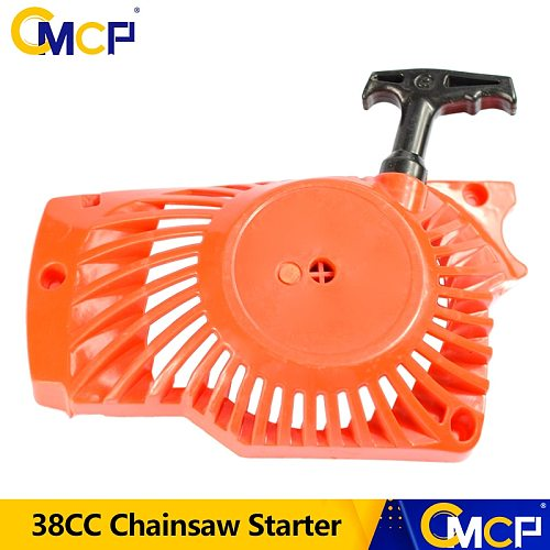 1pc 38CC Chainsaw Easy Pulley Starter Chainsaw Spare Parts Chainsaw Starter Recoil Pull Starter Chain Saw Parts