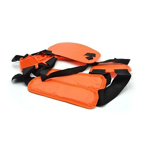 Double Shoulder Strap Adjustable for  Garden Power Pruner Harness Lawn Mower Grass Trimmer Brush Cutter