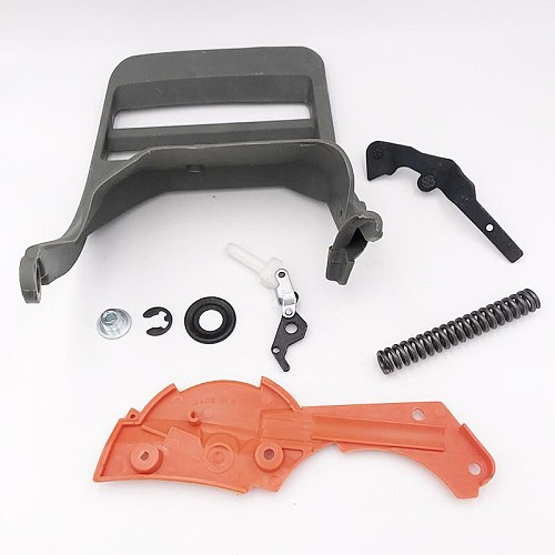 HUNDURE Chainsaw Parts Handle Guard Brake Cover Lever Knee Joint Sleeve Kit fit Husqvarna 362 365 371 372 372XP
