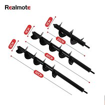 Realmote Special Small-sized Spiral Rod Flower Planting Bit Garden Seedling Planting Pine Soil Digging