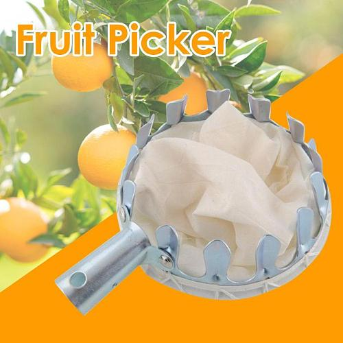Metal Fruit Picker convenient and practical Orchard Gardening Apple Peach High Tree Fruit Picking Tools