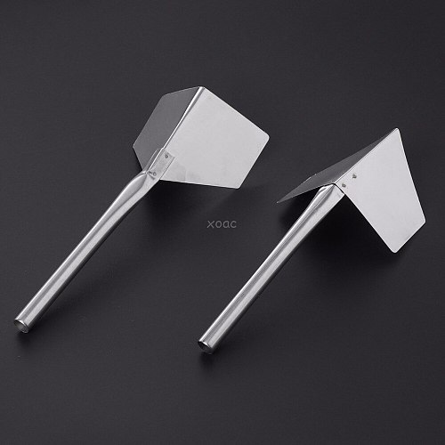 1 Pc Stainless Steel Garden Metal Handle 90 Degree Drywall Outdoor Corner Trowel
