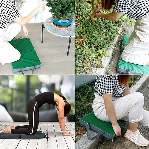 Mat Car Repairing Exercise Home Garden Thickened Foldable Garage Memory Foam Kneeling Pad Protective Support  Pray Cushion